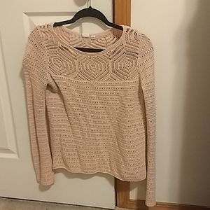 Gap crochet sweater